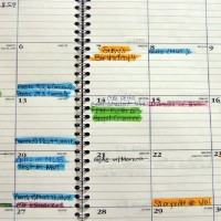 Someone's Lost Schedule Book